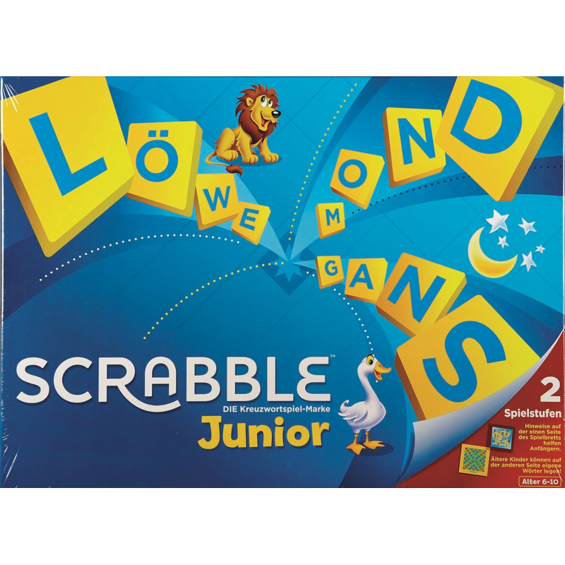 Mattel Y9670 - Scrabble Junior (D)