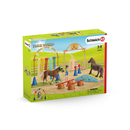 Set 3: Schleich 42481, 42483 - Pony Trainingsset - Farm World