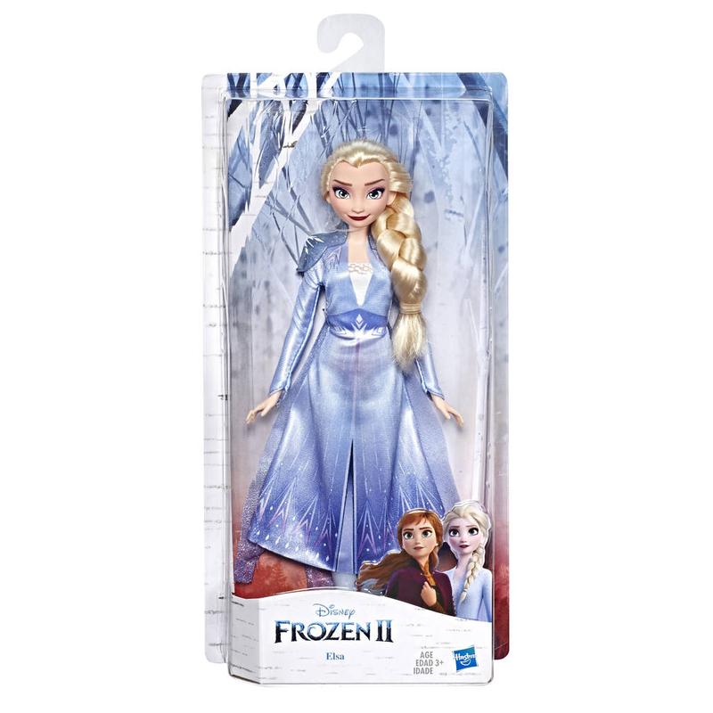 Lichtzauber Elsa Puppen Frozen II Die Eiskönigin 2 Hasbro E7000ES0