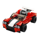 LEGO Creator 31100 - Sportwagen - 3-in-1 Set Hot Rod Flugzeug Auto Rot
