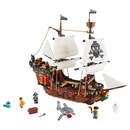 LEGO Creator 31109 - Piratenschiff - 3-in-1-Set Piraten-Taverne Piraten-Insel