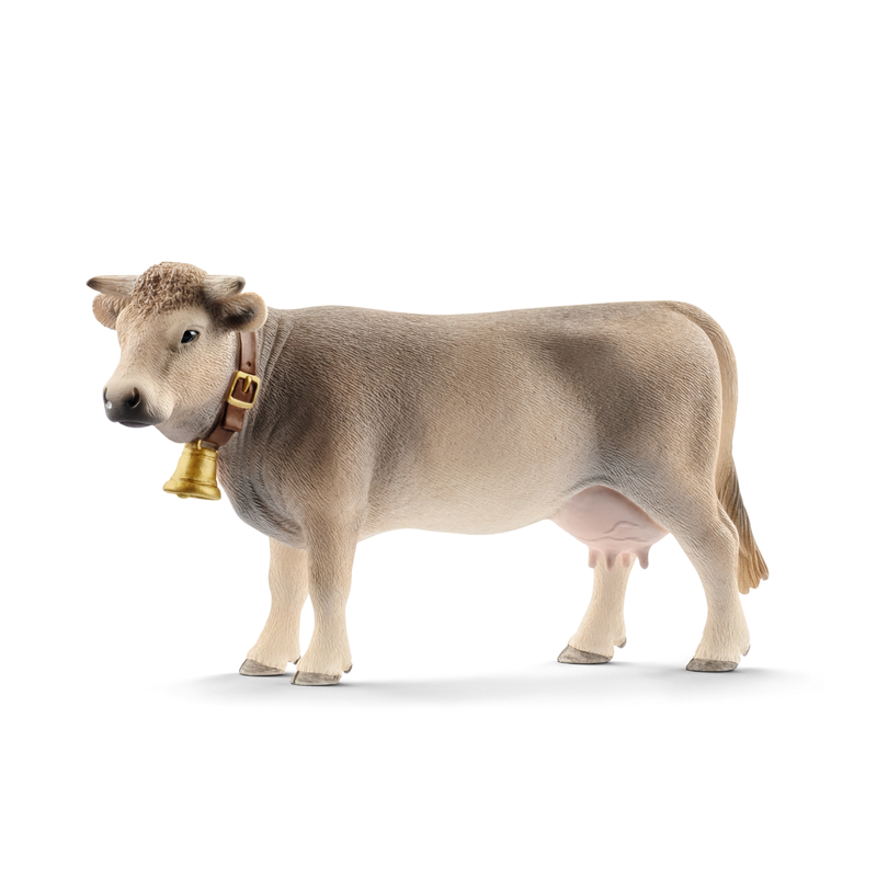 Schleich 13874 - Braunvieh Kuh - Farm World
