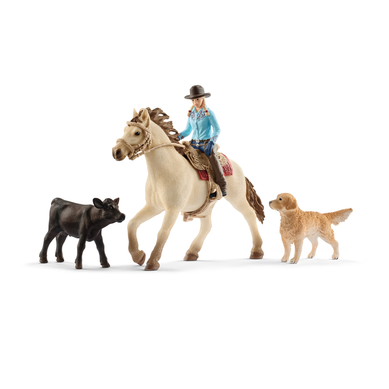Schleich 42419 - Westernreiten - Farm World