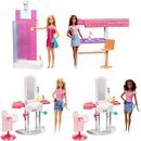 Mattel DVX51 - Barbie Deluxe-Set Möbel & Puppe Sortiment